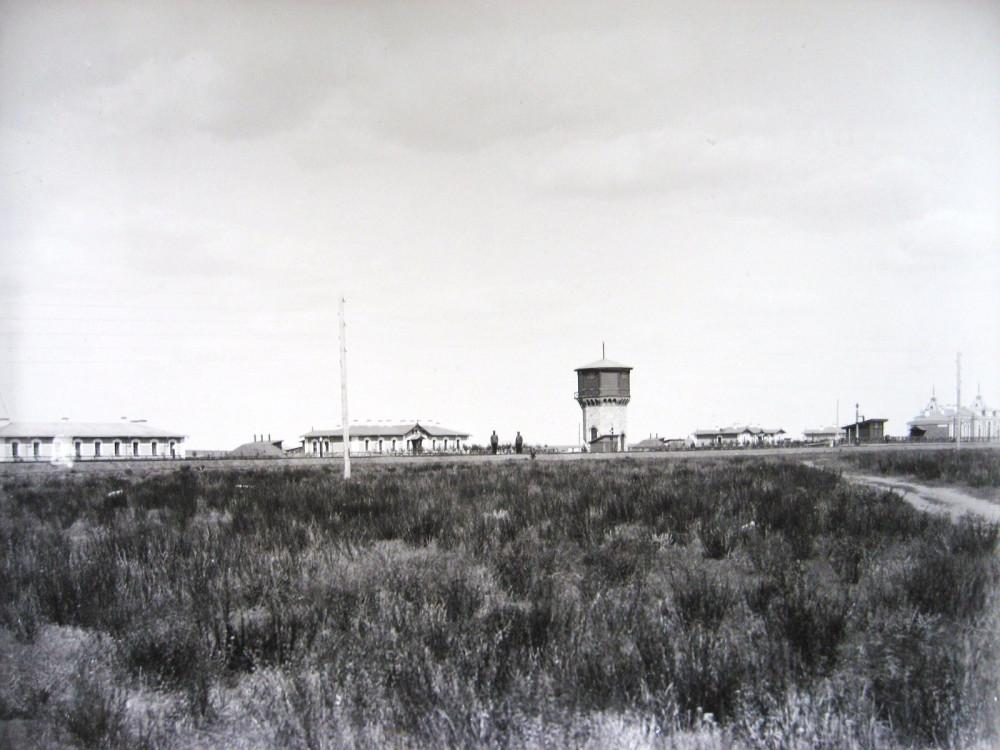 18. Общий вид станции Ак-Булак.