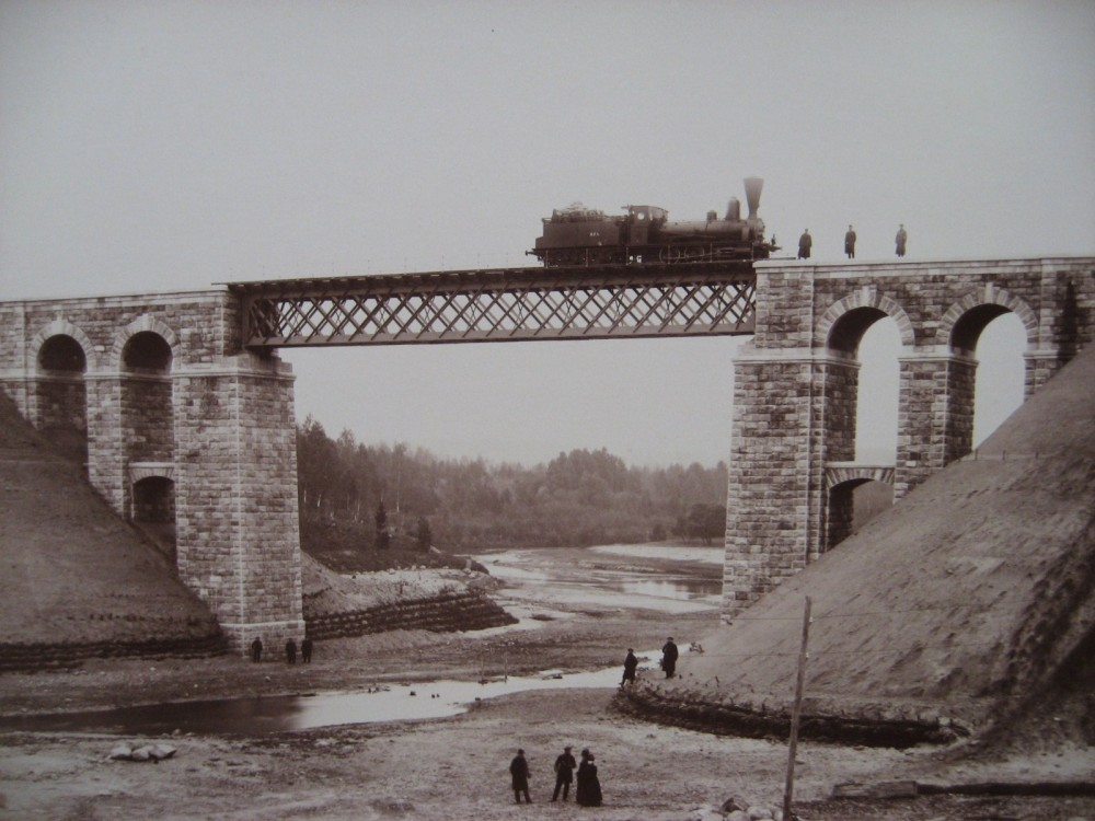 6. Мост через реку Рауне.