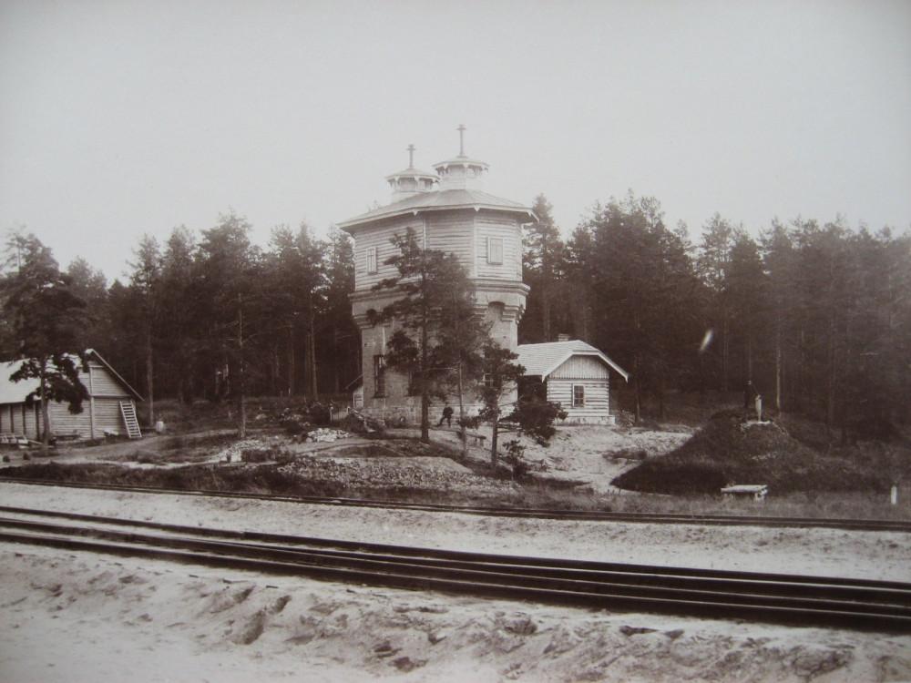9. Водоемно-водоподъемное здание на станции Верро.