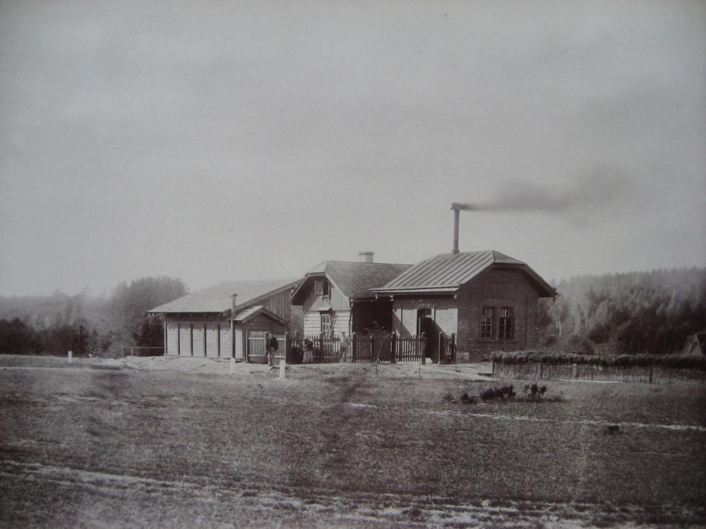 13. Водоподъемное здание на ст. Венден.