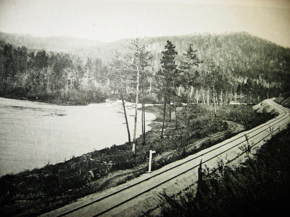 4. Река Б.Урюш на 180 версте.