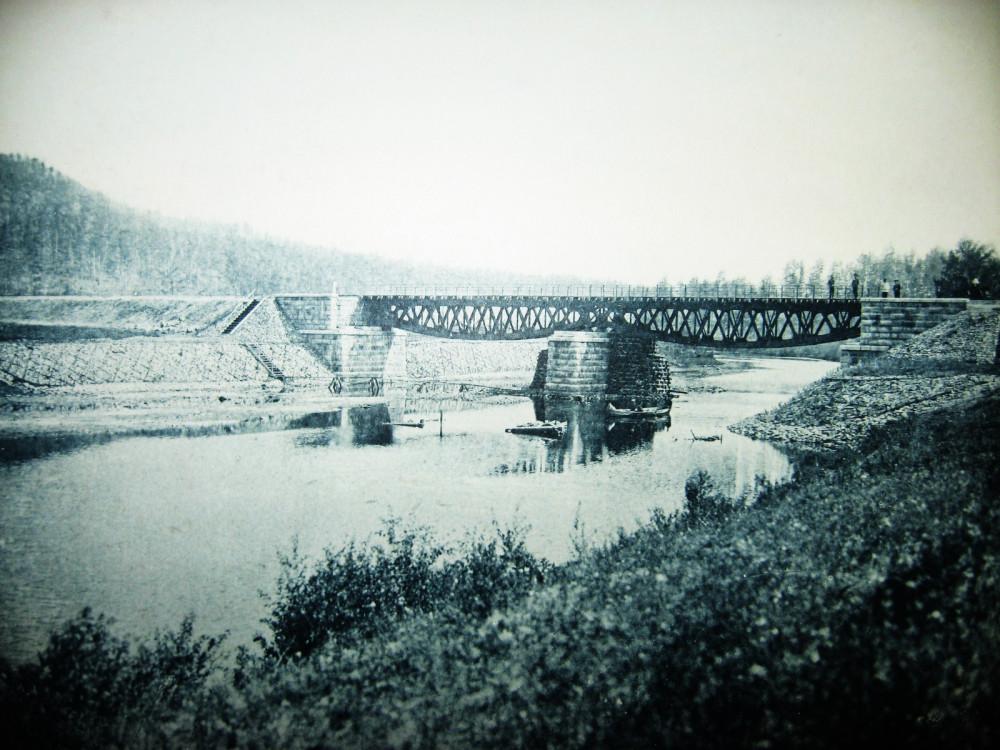 15. Мост через р. Унгурку на 176 версте.