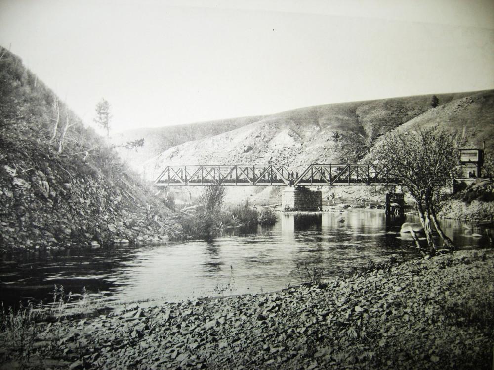 18. Мост через р. Алеур на 64 версте.
