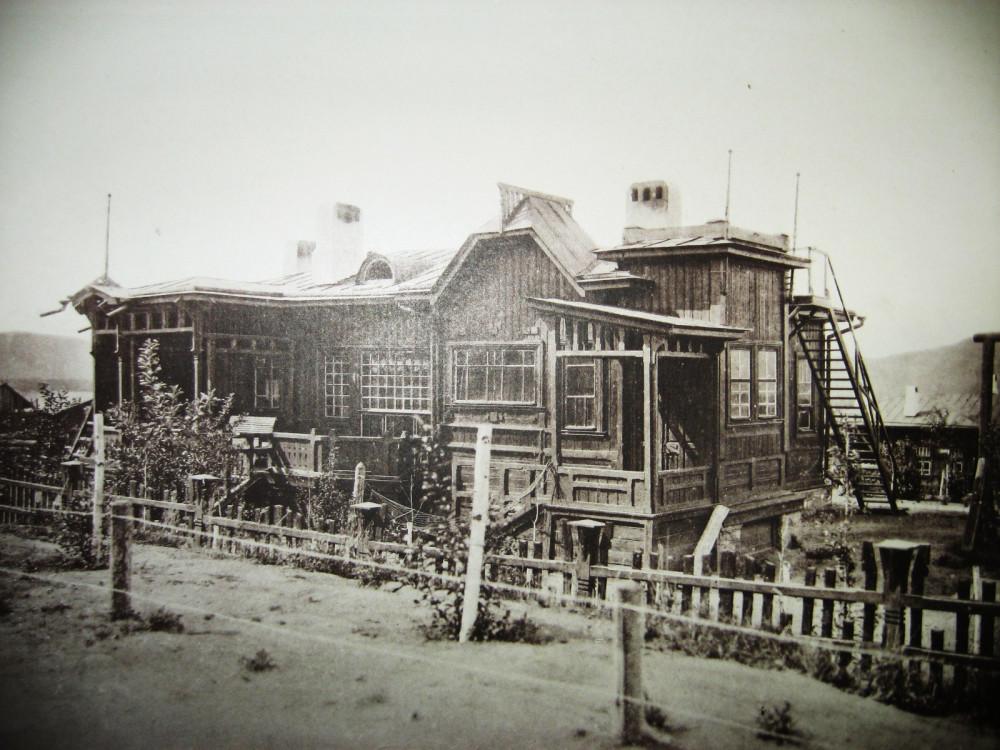 25. Жилой дом на станции Зилово.