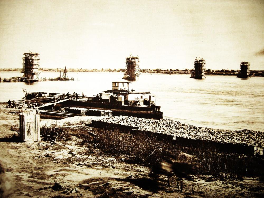 44. Постройка моста через Зею у г.Алексеевск.
