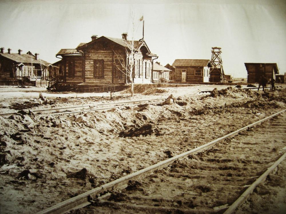 64. Станция Бурея.