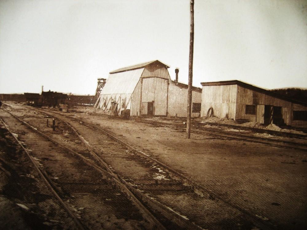 66. Станция Бурея. Кузница и временное депо.