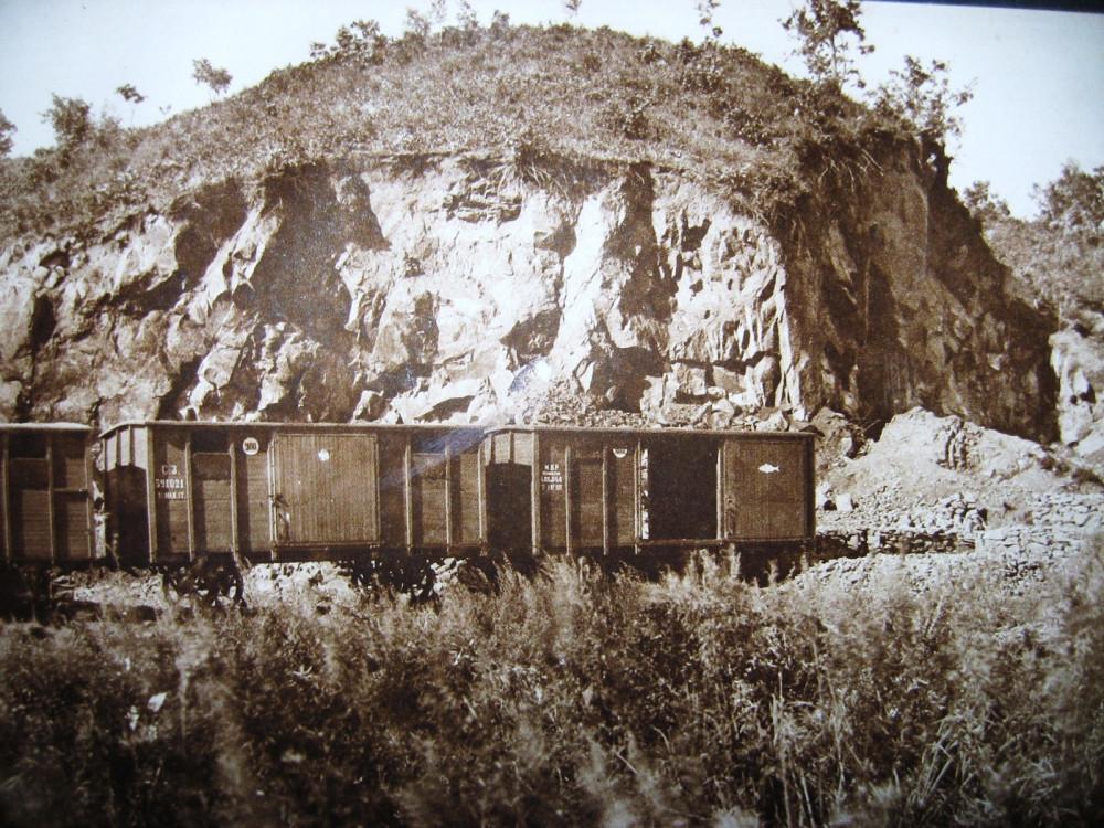 70. Каменный карьер на берегу р. Бурея.