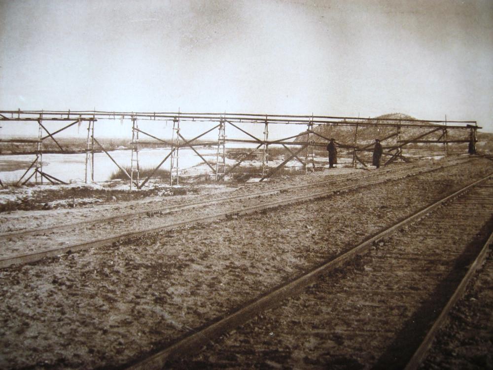95. Временное водоснабжение на станции Белогорск. 80 верста.