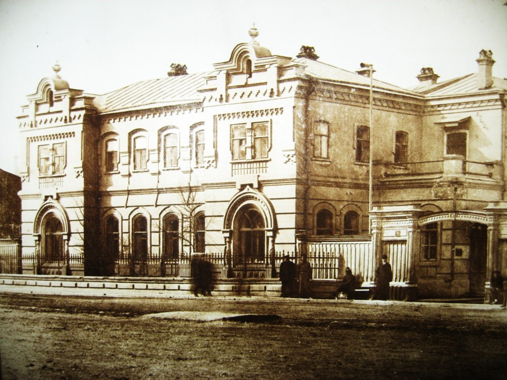 104. Управление Амурской ж.д. в Блпговещенске.