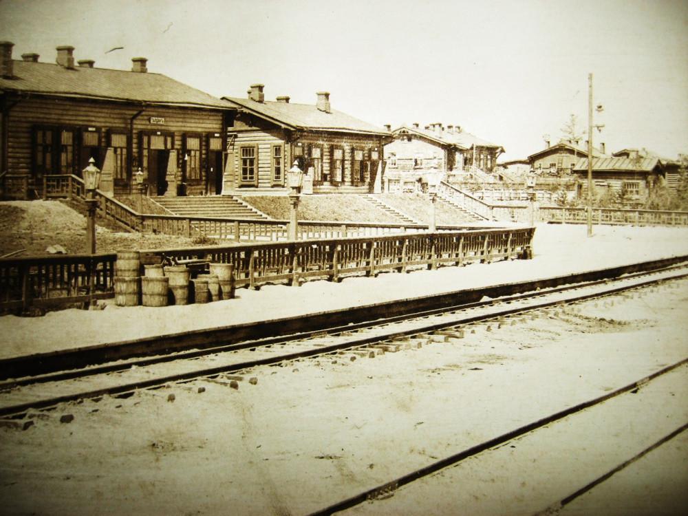 107. Станция Талдан.