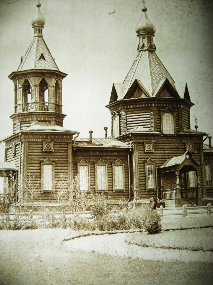 117. Церковь на станции Магдагачи.