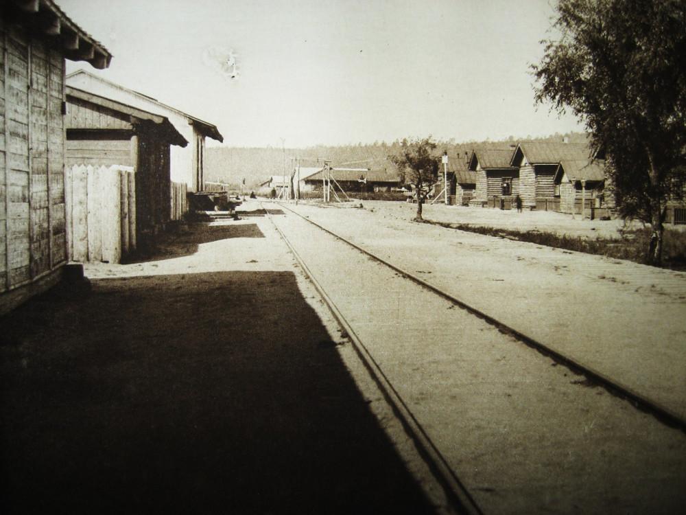 130. Станция Черняево.