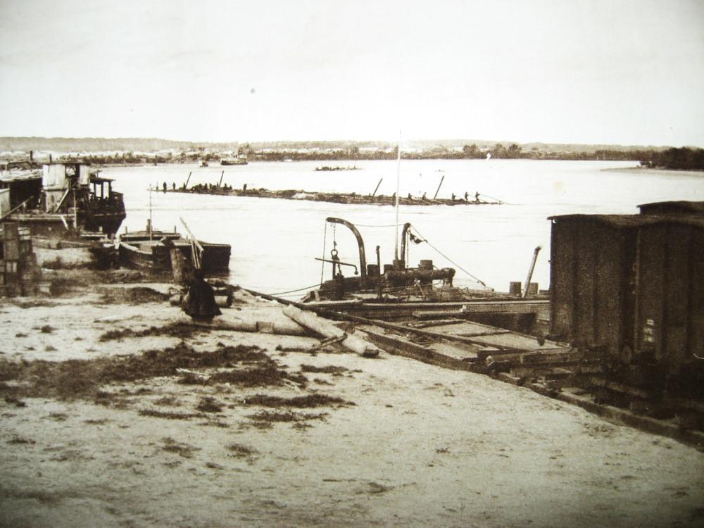 152. Алексеевск. Товарная пристань.