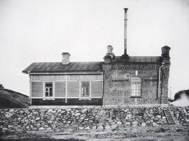 1. Водоподъемное здание на станции Вологда.