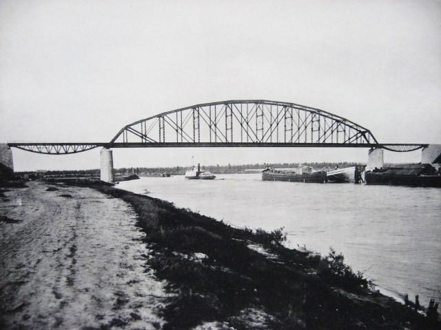 14. Мост на реке Шексна.