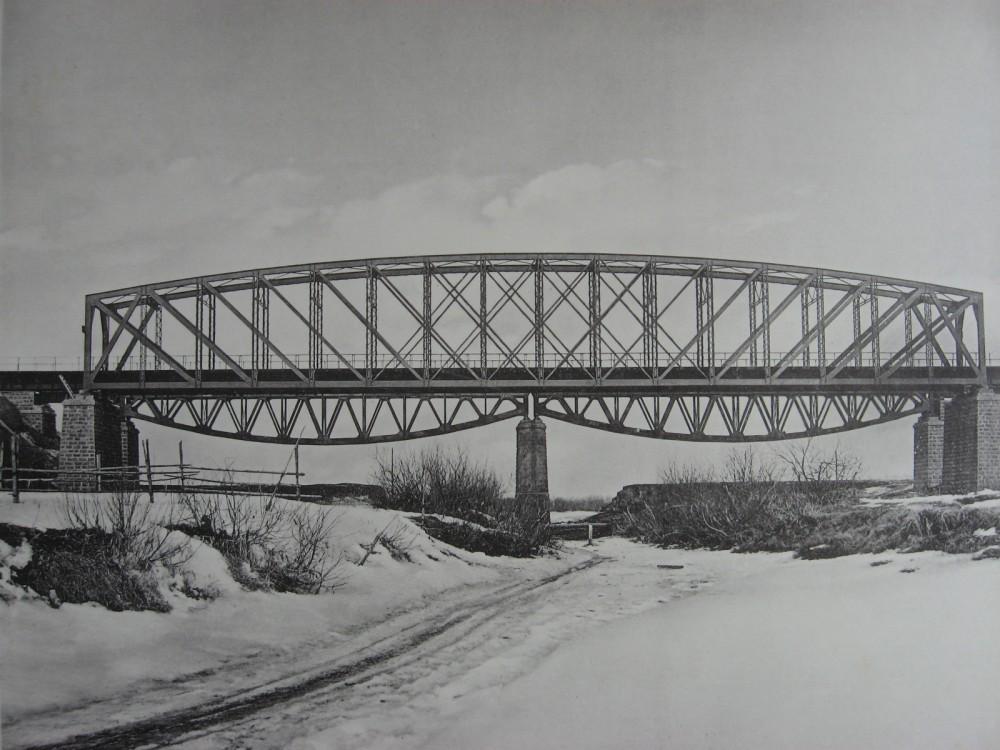 40. 2824 верста. Старый и новый Заларинский мосты.
