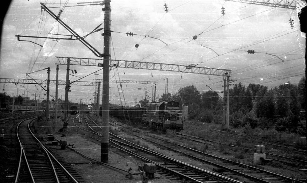 19. Станция Казань, московская горловина, 1988 год.