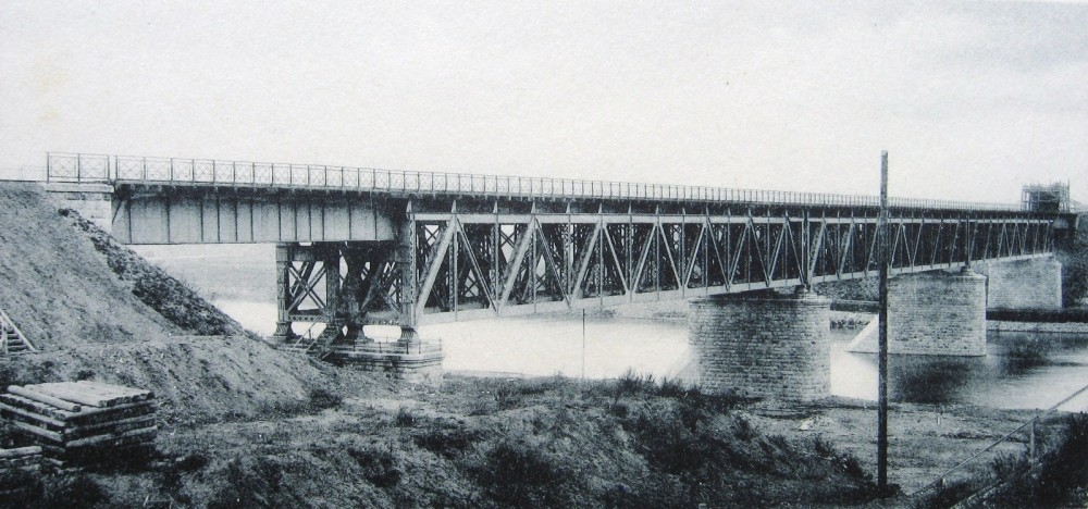 15. Общий вид Дорогомиловского моста.