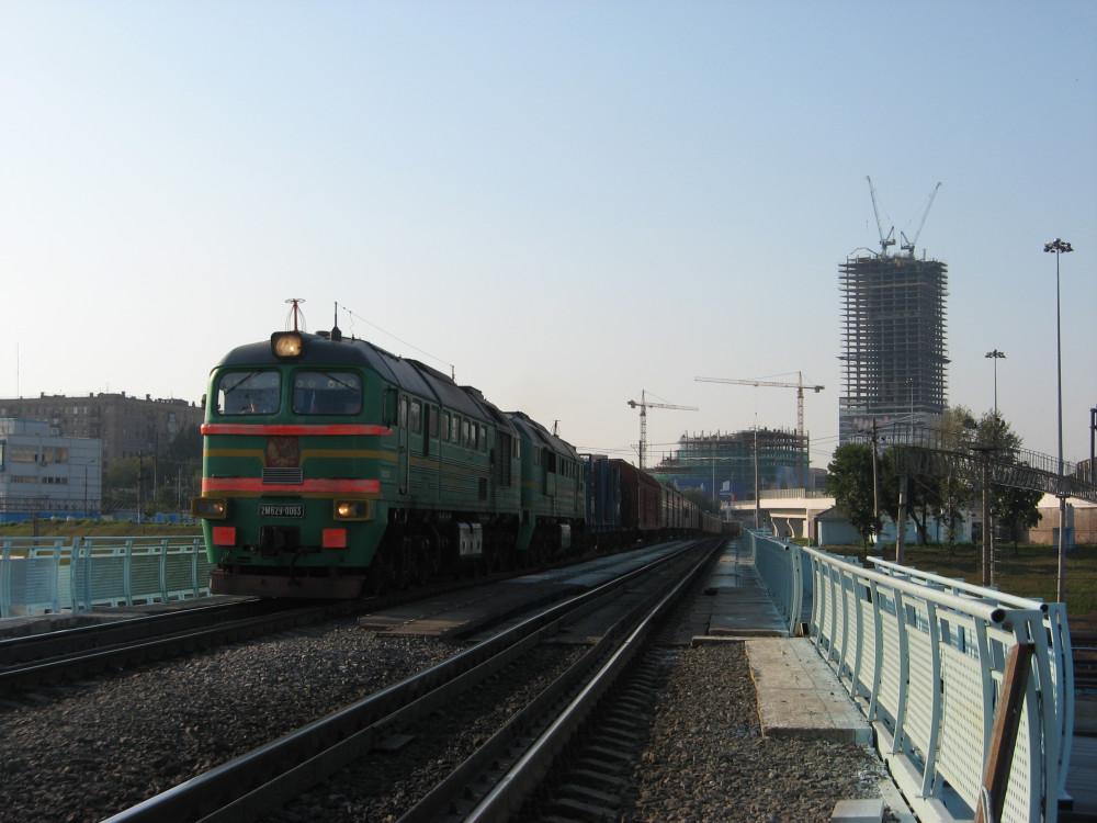 73. 2М62У-0063, путепровод через Киевское напр. Мск.ж.д., 04.09.2008