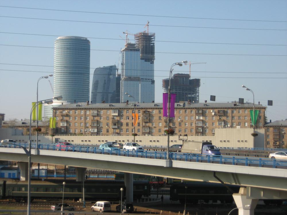 74. Вид на Деловой центр с Окружной ж.д., 04.09.2008