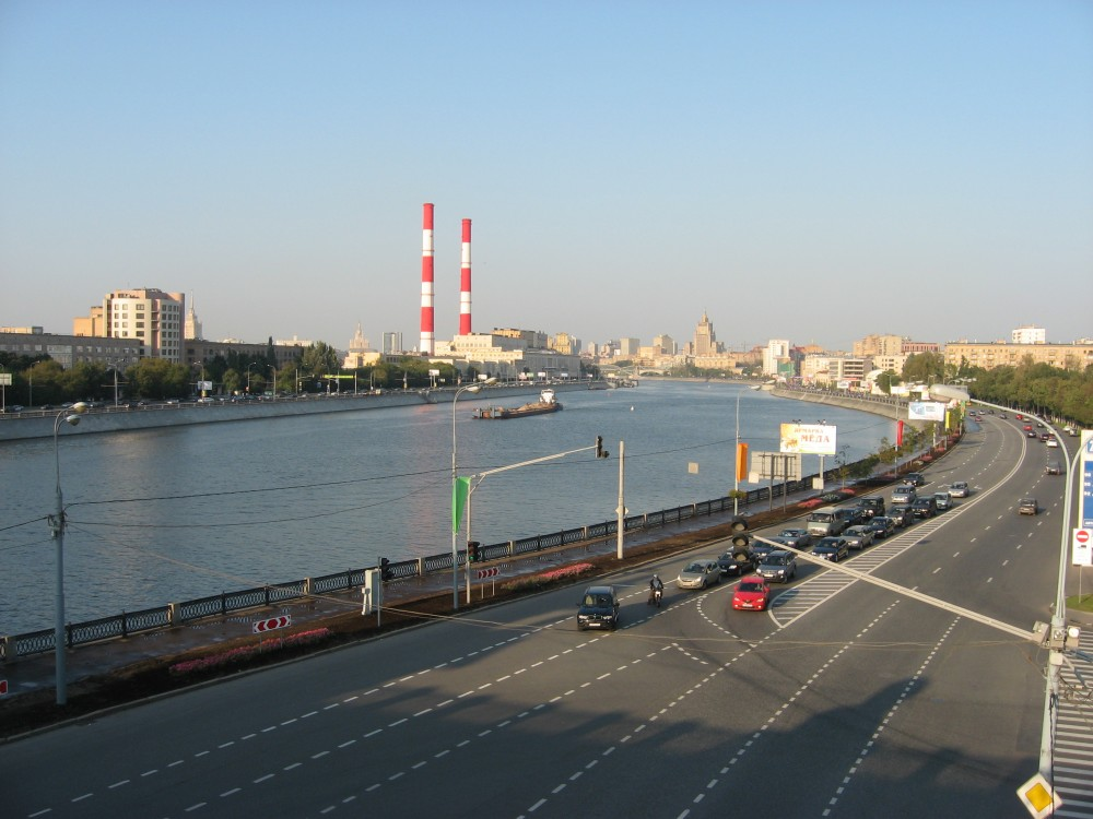 78. Вид с Краснолужского моста. 04.09.2008
