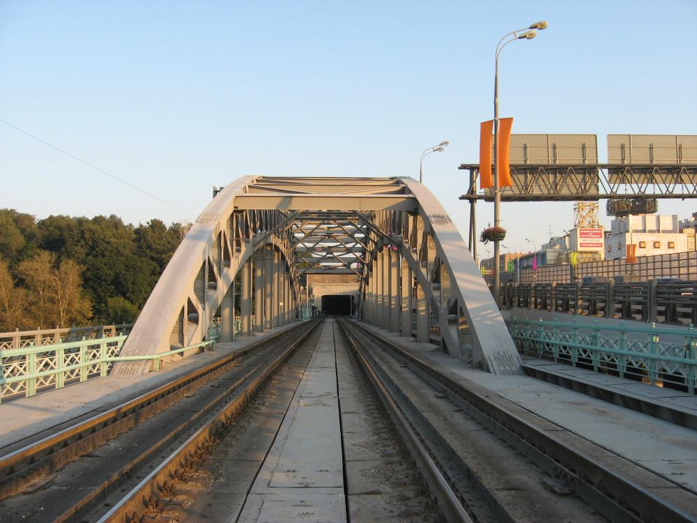 83. Портал Андреевского моста и вид на Гагаринский тоннель, 04.09.2008