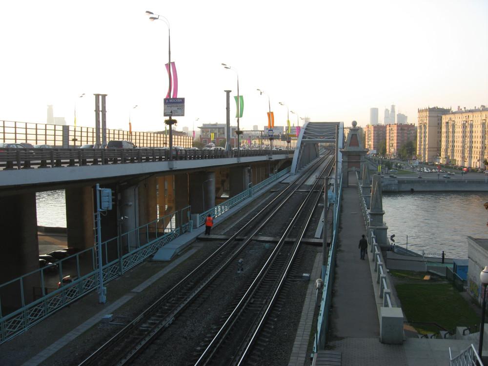 84. Вид на Андреевский мост, 04.09.2008