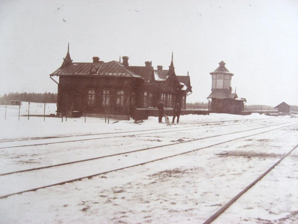 8. Станция Лосвида на 515 версте.