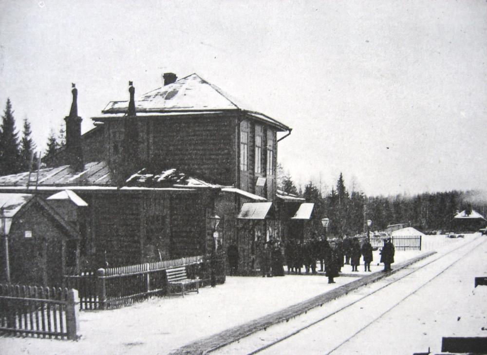 11. Пассажирское здание на станции Соблаго.