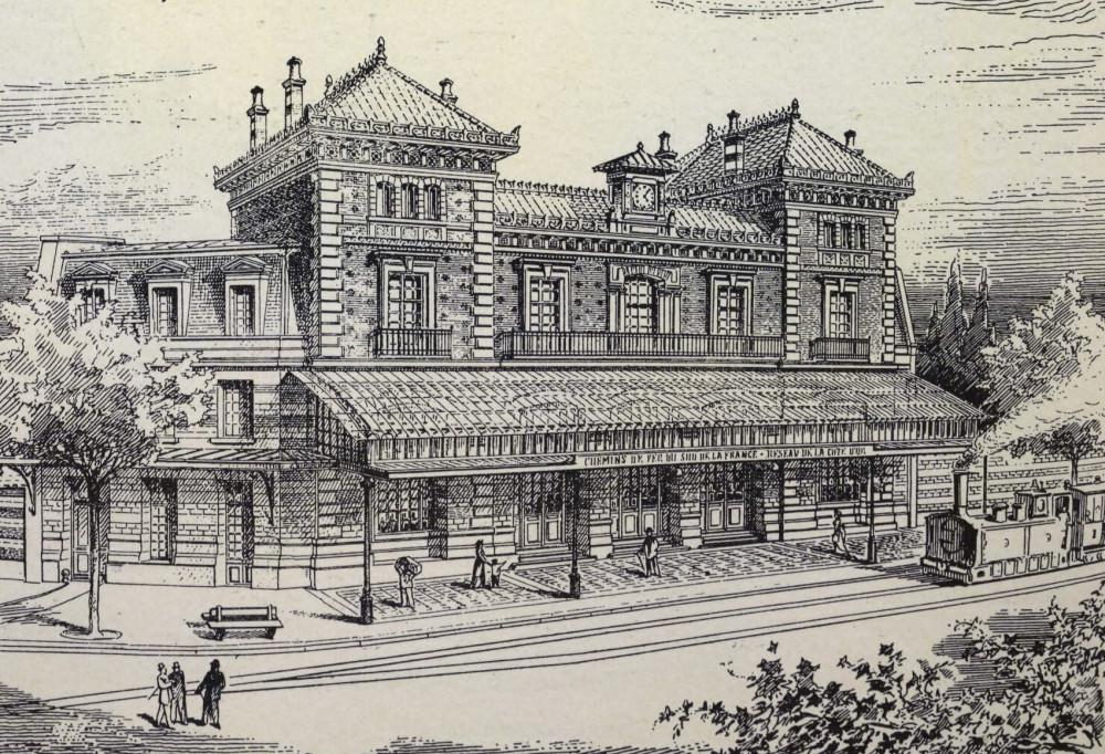 6. Вокзал в Дижоне.