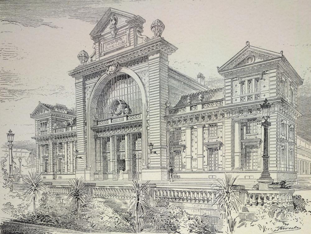 9. Здание вокзала в Ницце