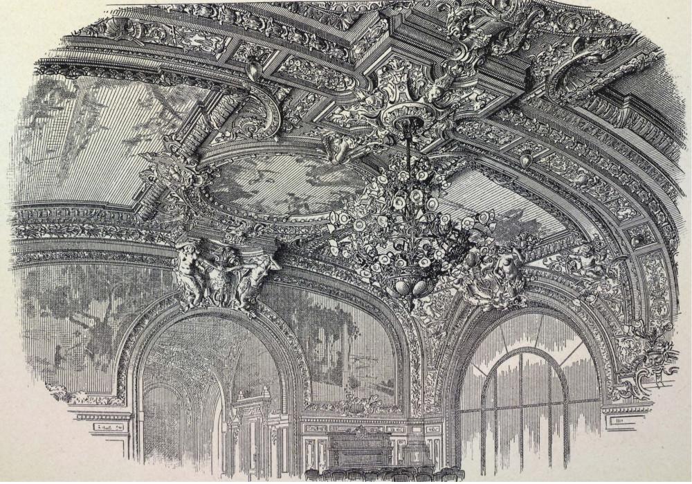 12. Лионский вокзал в Париже. Декоративное оформление.