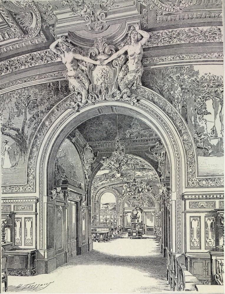 13. Лионский вокзал в Париже. Декоративное оформление.