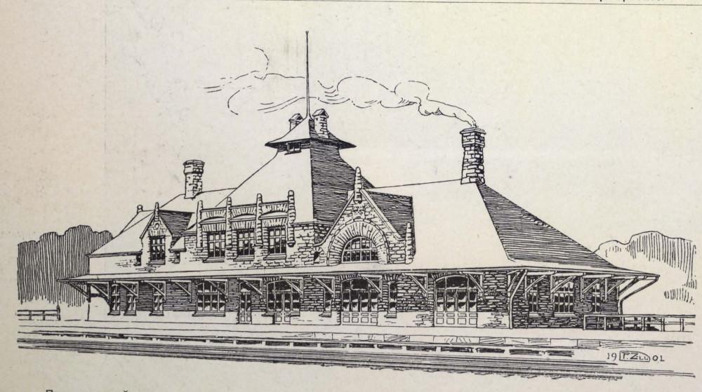 14. Проект вокзала для железных дорог Швеции