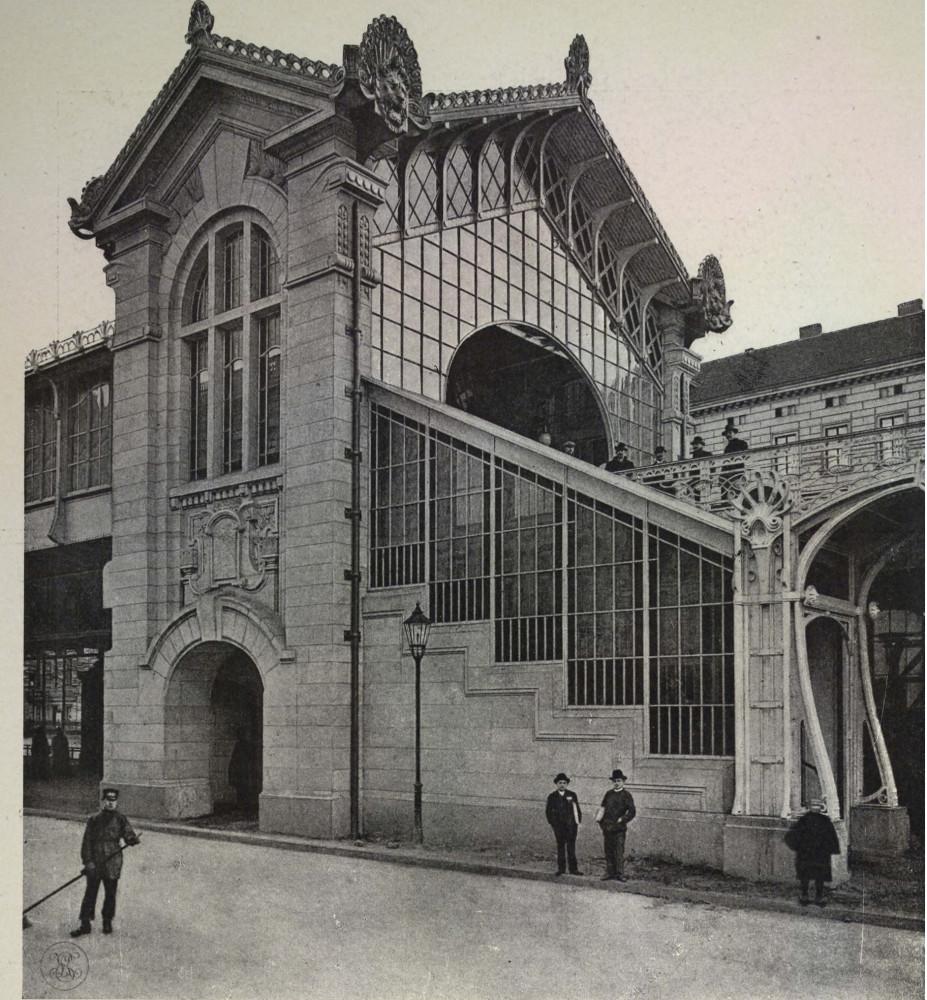 17. Cтанция электрической железной дороги в Берлине.