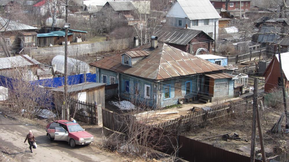 27. Жилая застройка у станции Киров.