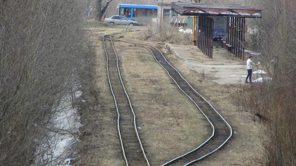 31. Кирово-Чепецк. Станция Новый. Посадочная платформа.