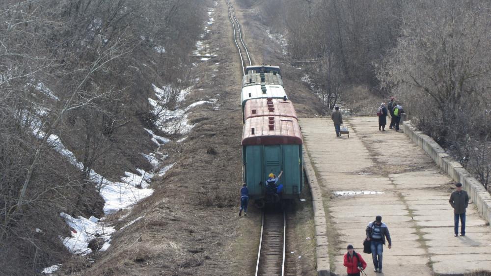 53. Кирово-Чепецк. Поезд отправился в сторону станции Новый