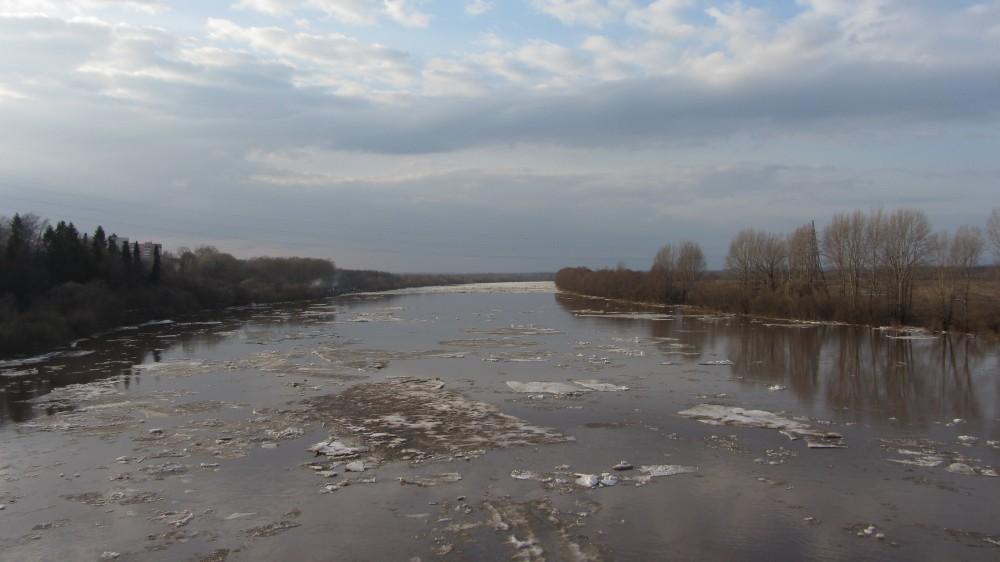 120. Река Чепца. Ледоход