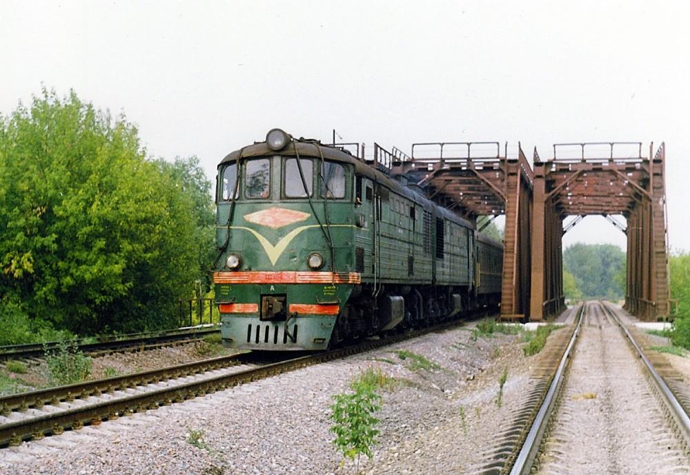 101. Перегон Серебряный Бор-Братцево МОЖД, 1986 год.