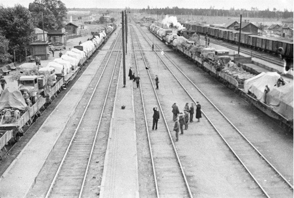 108. Ж.д.станция Нара, 1941 год.