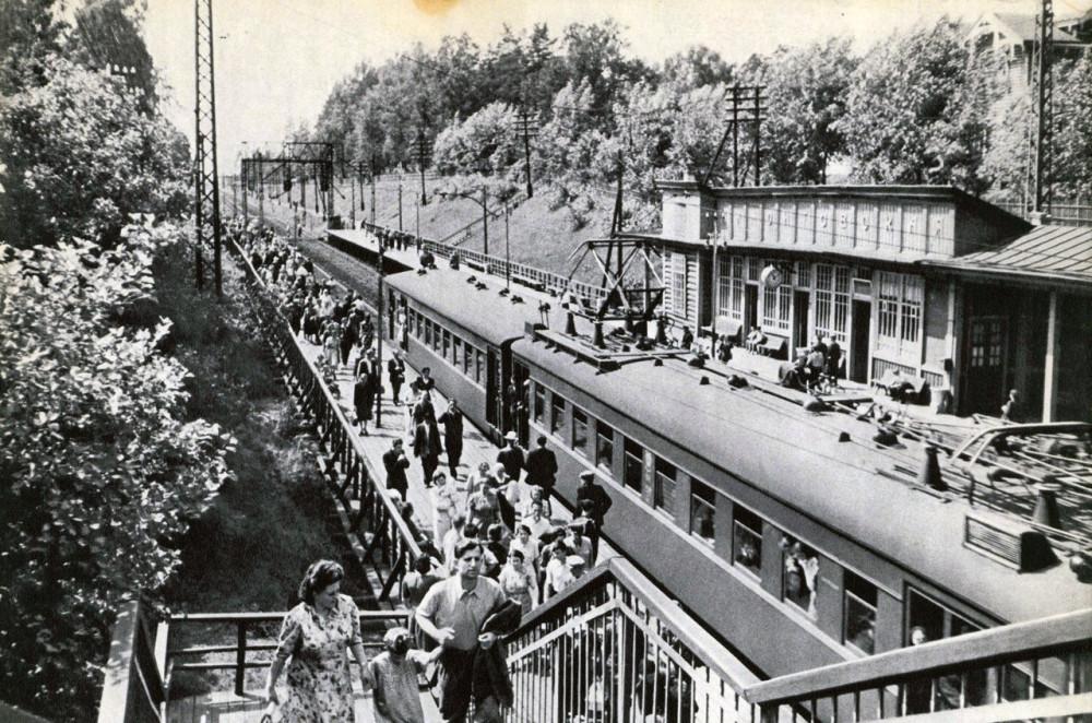 54. Платформа Мамонтовская Сев.ж.д., 30-40-е годы.
