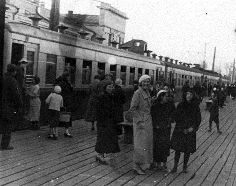 94. Ж.д.станция Загорск, 30-е годы.
