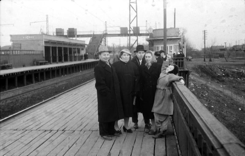 50. Платформа Косино, 1960 год.