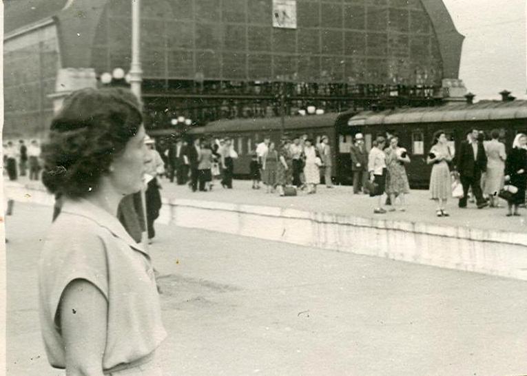 2. Киевский вокзал, 50-е годы.