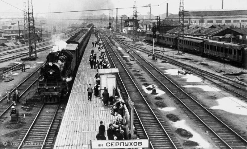 49. Станция Москва-Товарная-Курская, 1953 год.