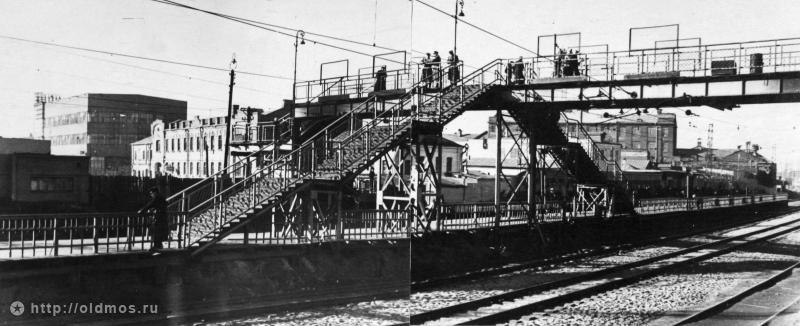 102. Платформа Серп и Молот, начало 50-х годов.