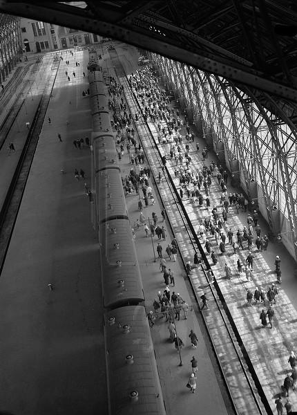 1. Киевский вокзал 1936 год.