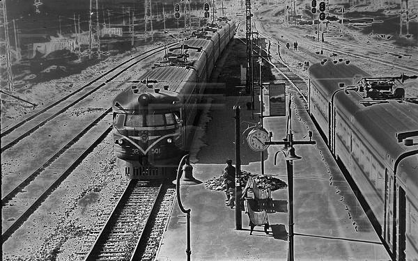 5. Станция Икша 1965 год.